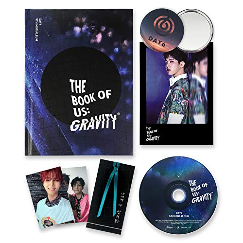 DAY6 5th Mini Album - The Book Of Us : Gravity [ SOUL ver. ] CD + Photobook + Photocards + Postcard + Bookmark + FREE GIFT / K-POP Sealed