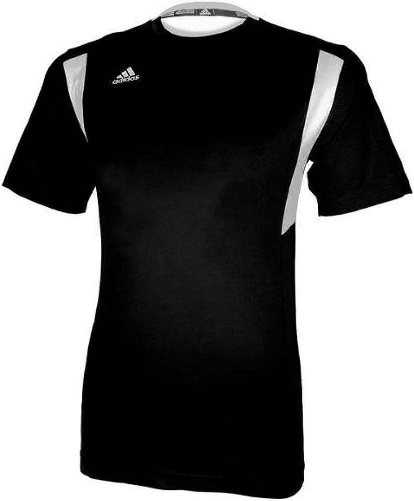Amazon.com: adidas Men's Climalite Utility Short Sleeve Jersey ...