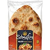 Stonefire Whole Grain Tandoori Naan Bread 8.8 Ounce [Pack of 3]