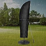 Dokon Ampelschirm Schutzhülle mit Stab, Sonnenschirm Abdeckung 2 bis 4 M Große Ampelschirm...