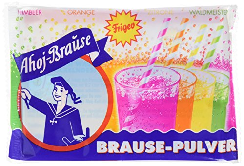 Frigeo Ahoj-Brause Brausepulver 10Btl,4Sorten, 28er Pack (28 x 58 g Packung)
