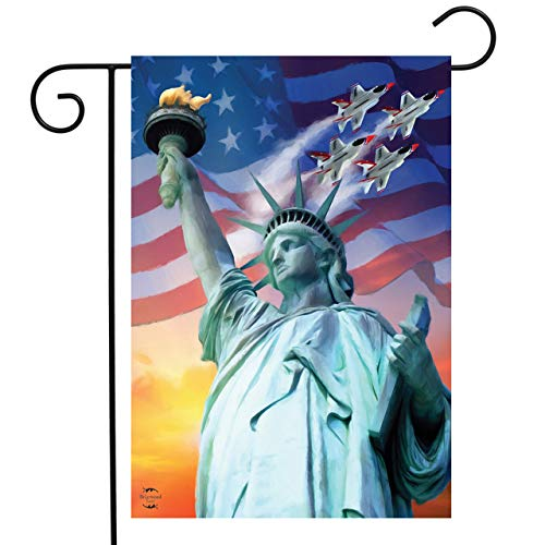 Briarwood Lane Liberty for All Patriotic Garden Flag Statue of Liberty 12.5'x18'