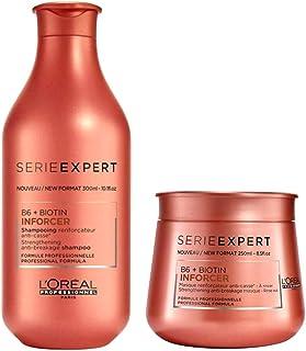 Loreal Expert Kit B6 + Biotin Inforcer Shampoo 300Ml E Mascara 250G