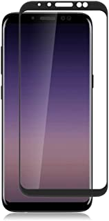 Samsung galaxy A8 (2018) Full Cover Tempered Glass Screen Protector BLACK bY muzz