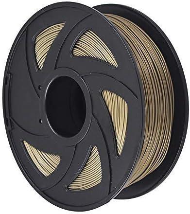 new arrival 3D Printer sale Filament - 1KG(2.2lb) 1.75mm / 3 mm, Dimensional 2021 Accuracy PLA Multiple Color (Bronze,1.75mm) outlet online sale