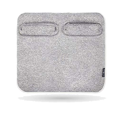 Warmer, Electric Blanket, Heated Smart Multifunctional Travel Electric Blanket, Carbon Fiber Heating, stepless Heating Regulation, Home use, Grey