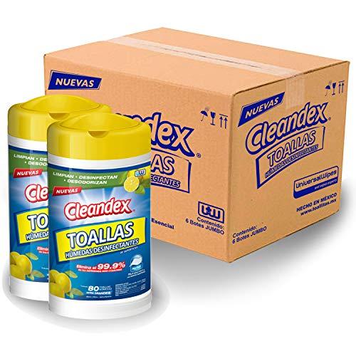 Toallitas Desinfectantes  marca CLEANDEX
