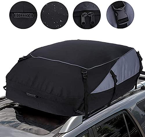 Antrect Auto Dachbox 792L Faltbare Dachkoffer Dachgepäckträger Tasche 600D Wasserdicht Dachtasche Aufbewahrungsbox für Reisen und Gepäcktransport, Autos, Vans, SUVs