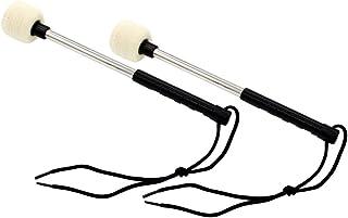 EXCEART 2 Piezas Bass Kick Drum Beater Lana Fieltro Pedal Beater Head Drum Instrument Accesorios