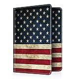 Fintie Passport Holder Travel Wallet RFID Blocking PU Leather Card Case Cover, US Flag