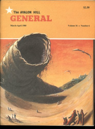 The Avalon Hill General Volume 16 Number 6 - March / April 1980 - Articles on Games Including Dune, Diplomacy, Outdoor Survival, Anzio, Area PMB and Panzerblitz