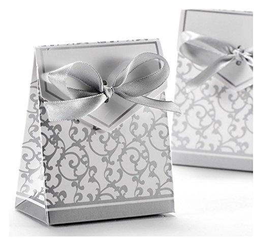 100pcs Wedding Favour Candy Boxes Gift BoxesGolden Pattern SquareSilver Pattern Square (  sc 1 st  Amazon UK & Wedding Favour Boxes for Guests: Amazon.co.uk