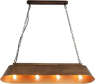 Wlnnes 4-isla luz de la lámpara pendiente de la luz de la cocina del restaurante Industrial iluminación pendiente retro iluminación del restaurante barra de luces del estilo de la Industria lámpara de: