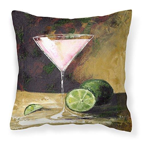 Lime Martini by Malenda Trick Fabric Decorative Pillow
