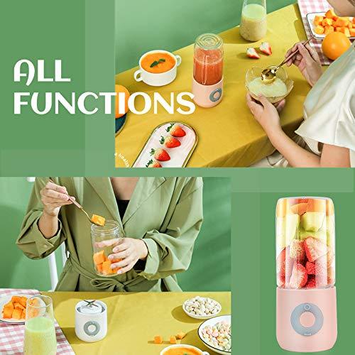 Pequeña Licuadora de Frutas con Exprimidor