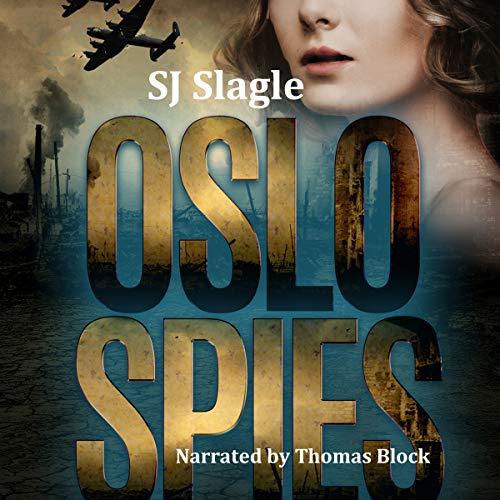 Oslo Spies audiobook cover art