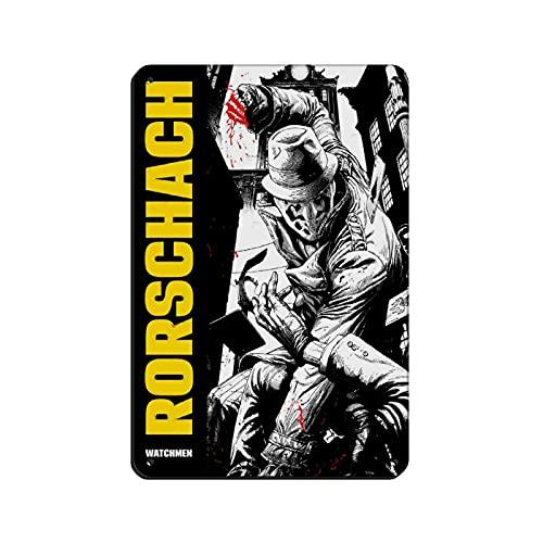 Watchmen Rorschach 12 - Cartel de metal vintage para decoración de pared, diseño retro de 20 x 30 cm