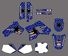 KIMME 0210 New TEAM GRAPHICS& BACKGROUNDS DECALS STICKERS Kits Fit for Yamaha YZ80 YZ 80 1993 1994 1995 1996 1997 1998 1999 2000 2001