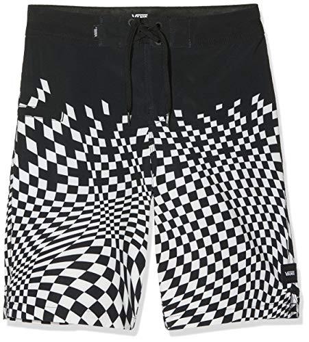 Vans Jungen Pixelated Boardshort Boys Short, Schwarz (Black Blk), X-Large (Herstellergröße: 30)