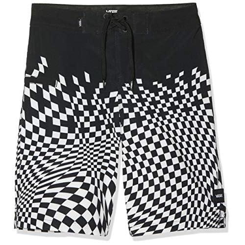 Vans Pixelated Boardshort Boys Shorts, Nero (Black Blk), Small (Taglia Unica: 24) Bambino