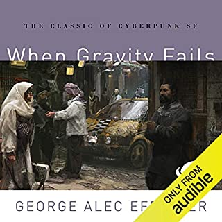 When Gravity Fails audiobook cover art