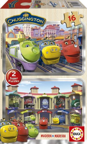 Educa Borrás - 2X16 Chuggington (15281)