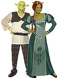Fancy Me Couples Femmes et Hommes DREAMWORKS Shrek et Fiona Halloween Film Dessin animé Personnages déguisement Costume déguisement - Multicolore, Multicolore, Ladies Medium and Mens Large