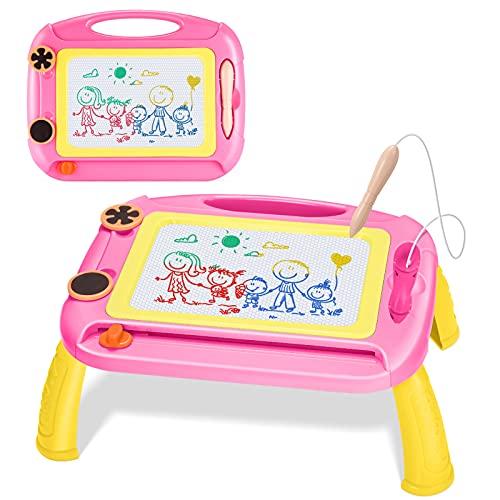 Toyze Regalo Bambini 2-8 Anni, lavagnetta Magnetica Giocattoli Bambina 2-8 Anni Regalo per Bambino 2-8 Anni Giocattoli per Bambina 2-8 Anni Bambini 2-8 Anni Regali di Compleanno Bambini 2-8 Anni