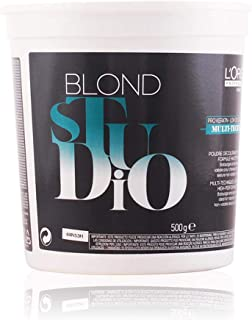L'Oreal Professional Blond Studio Multi Techniques Lightening Powder, 17.60 Ounce
