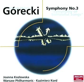 "Gorecki: Symphony No.3 - ""Symphony of Sorrowful Songs"""