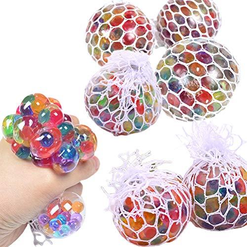 Bolas antiestrés, juguete para apretar, bolas para el estrés sensorial, bolas de ventilación de uva para aliviar el estrés, juguete sensorial para aliviar la ansiedad para niños autistas adultos