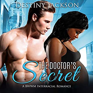 The Doctor's Secret: A BWWM Interracial Romance  audiobook cover art