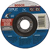Bosch Accessories CG27M450 9-Inch Metal Cutting Type 27 1/8-Inch by 7/8-Inch Grinding Wheel.