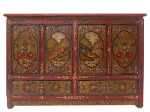 China Tibet 1910 ancho cómoda aparador clásico en San Jorge