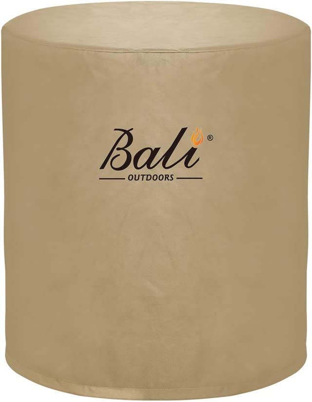 BALI OUTDOORS Round Fire Pit Large-scale sale Cylinder Sales results No. 1 Cover Fi Column