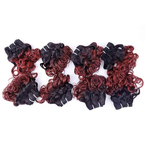 8 inch curly weave _image4