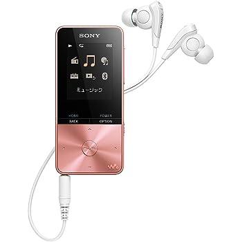ソニー ウォークマン Sシリーズ 4GB NW-S313 : Bluetooth対応 最大52時間連続再生 イヤホン付属 2017年モデル ライトピンク NW-S313 PI