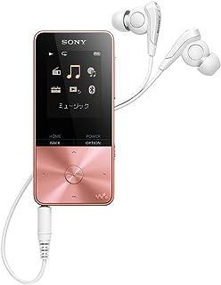 赞助广告- Sony 索尼 Walkman S系列 16GB NW-S315 : MP3播放器 支持蓝牙 最长52小时连续播放 附耳机 2017年款 浅粉色 NW-S315 PI