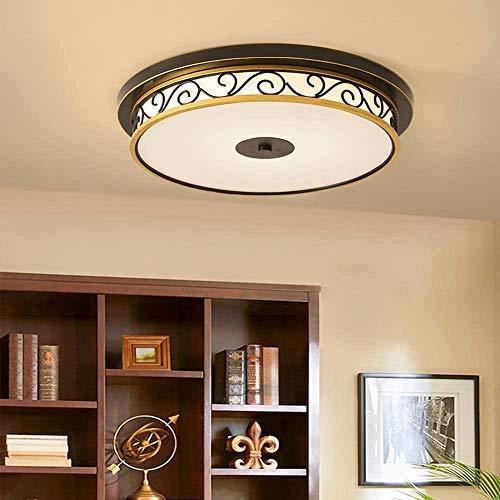 Wlnnes Retro Estudio Lámpara Lámpara LED Europea Lámpara de Techo Lámpara de Techo Balcón Porche Dormitorio Master Corredor Pasillo Luces Moderno Minimalista Lámpara