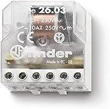 Finder Serie 26–Relais semincasso Raccordo bipolare Contatto aperto + contatto chiuso 230VAC