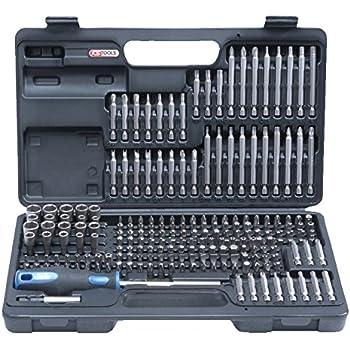 KS Tools 911.2008 Pack bits, con soporte para el cinturón (tamaño: 1/4