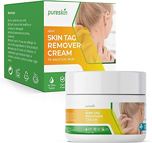 Pureskin Herbal Genital Wart Remover, Small to Tiny Size Wart Removal,...