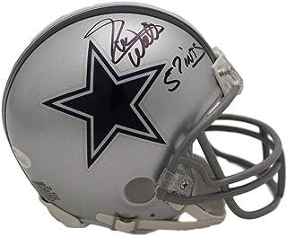 Everson Walls Autographed/Signed Dallas Cowboys Mini Helmet 57 INTs JSA