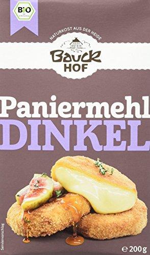 Bauckhof Dinkel-Paniermehl, 6er Pack (6 x 200 g Tüte) - Bio
