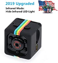 Wishpower Mini Hidden Spy Video Recorder/Camera/HD Secret Video Recorder with Night Vision/Built in Microphone and Motion Detection,Micro Covert Security Camera.(TFCard Not Included) (Mini Spy Camera)