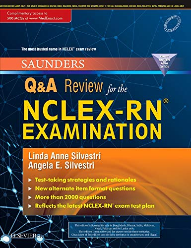 Price comparison product image Saunders Q & A Review for the NCLEX-RN (R) Examination: First South Asia Edition