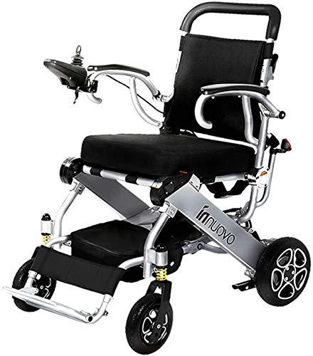 WYRRJ Elektro-Rollstuhl Elektro-Rollstuhl ältere Behinderte Auto ältere intelligente automatische tragbare Roller...