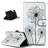 Coque Sony Xperia Z5, Sony Xperia Z5Étui portefeuille en cuir synthétique à rabat, ikasus...