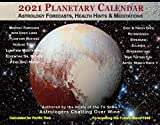 2021 Planetary Calendar Large Wall Size with Astrology Forecasts