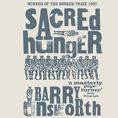 Sacred Hunger audiobook cover art